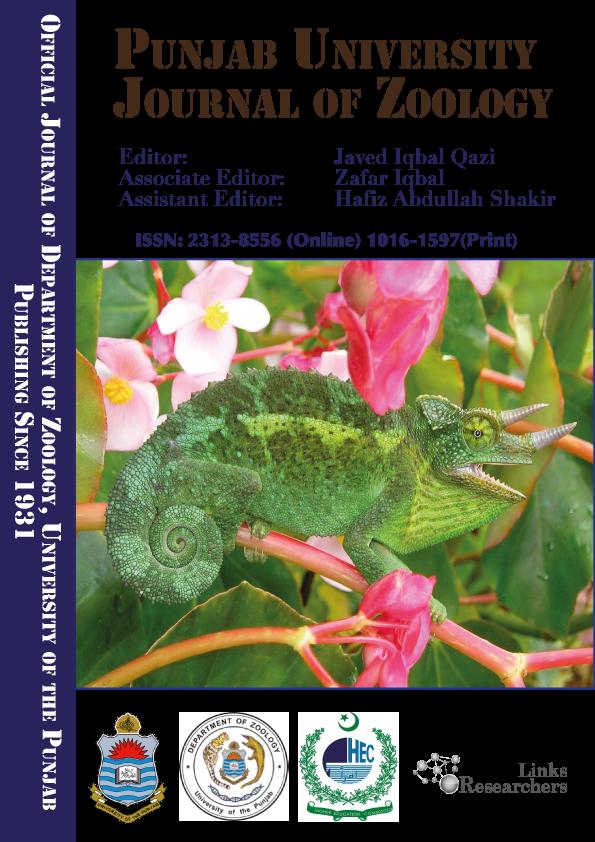 Punjab University Journal of Zoology