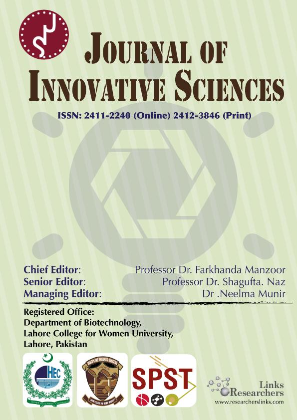 Journal of Innovative Sciences