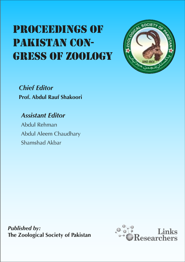 Proceedings of Pakistan Congress of Zoology