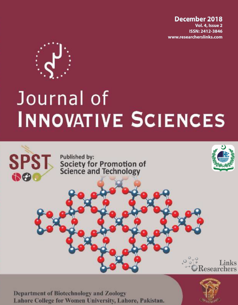 Journal of Innovative Sciences